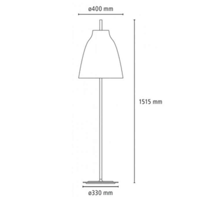 Caravaggio floor cecilie manz lampadaire floor light  nemo lighting 81081505  design signed nedgis 67169 product