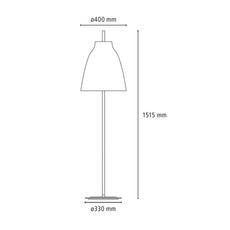 Caravaggio floor cecilie manz lampadaire floor light  nemo lighting 81081505  design signed nedgis 67169 thumb