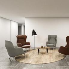 Caravaggio floor cecilie manz lampadaire floor light  nemo lighting 81081208  design signed nedgis 67184 thumb