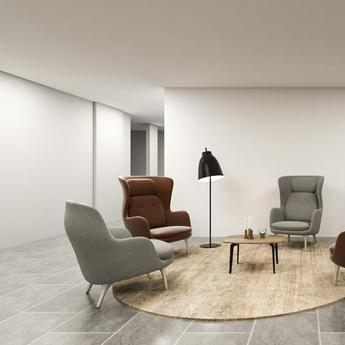 Lampadaire caravaggio floor noir o40cm h151 5cm lightyears normal