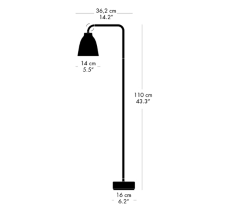 Caravaggio read cecilie manz lampadaire floor light  nemo lighting 51697412  design signed nedgis 67219 product