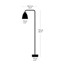 Caravaggio read cecilie manz lampadaire floor light  nemo lighting 51697412  design signed nedgis 67219 thumb