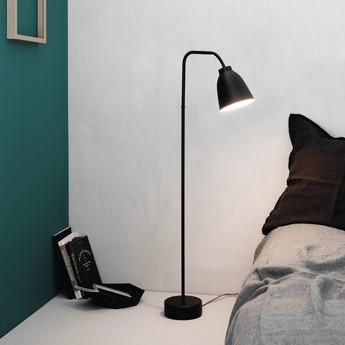 Lampadaire caravaggio read noir o36 2cm h110cm lightyears normal