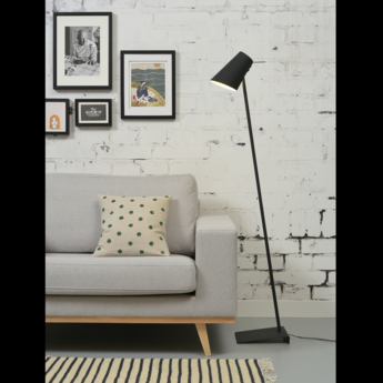 Lampadaire cardiff fb noir o25cm h140cm it s about romi normal