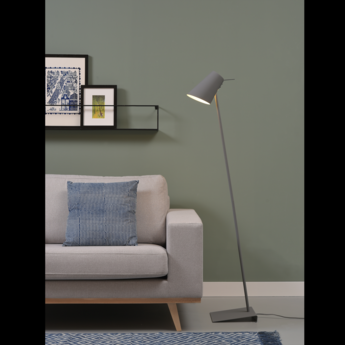 Lampadaire cardiff fdg gris o25cm h140cm it s about romi normal