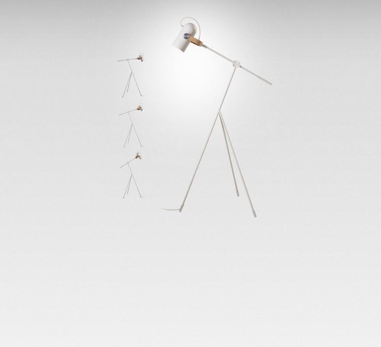 Carronade markus jonhasson lampadaire floor light  le klint 360 ss  design signed 50392 product