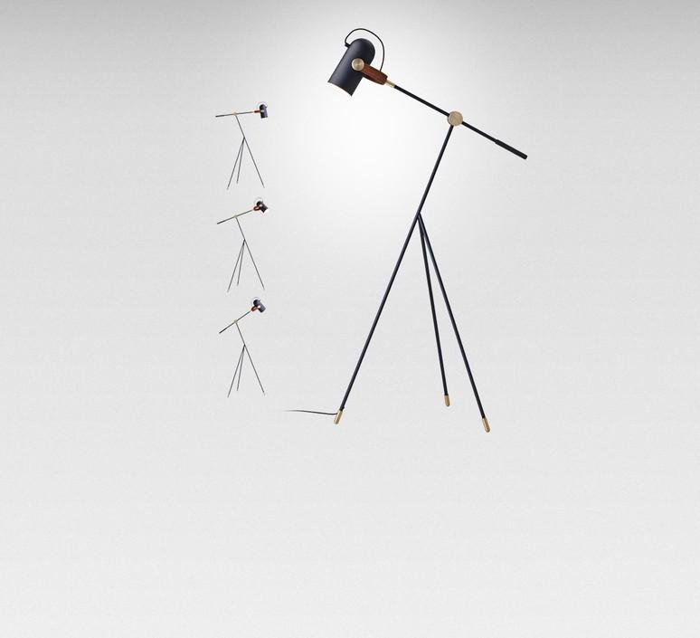 Carronade markus jonhasson lampadaire floor light  le klint 360 sb  design signed 50391 product