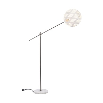 Lampadaire chanpen diamond blanc gris o36cm h142 214cm forestier normal