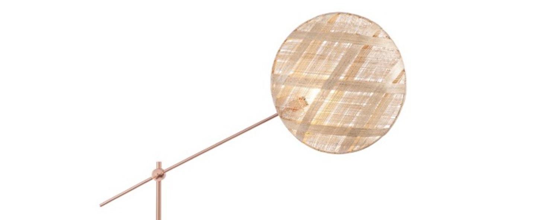 Lampadaire chanpen diamond naturel cuivre o52cm h150 230cm forestier normal