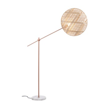 Lampadaire chanpen diamond naturel cuivre o52cm h150 230cm forestier normal