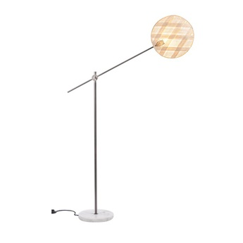 Lampadaire chanpen diamond naturel gris o36cm h142 214cm forestier normal