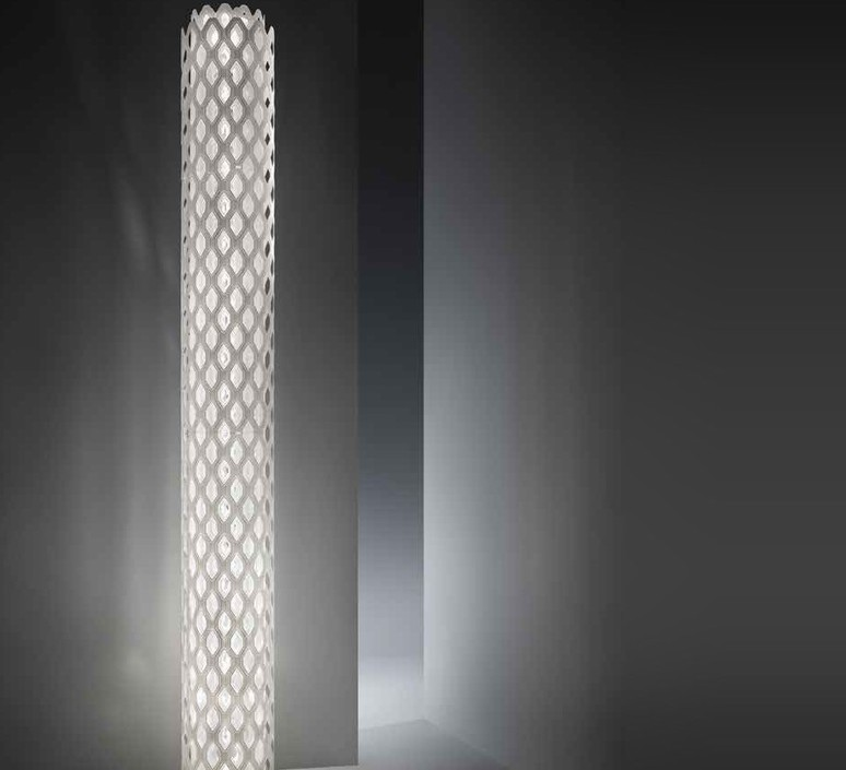 Charlotte  lampadaire floor light  slamp chr88pst0000w 000  design signed 51975 product