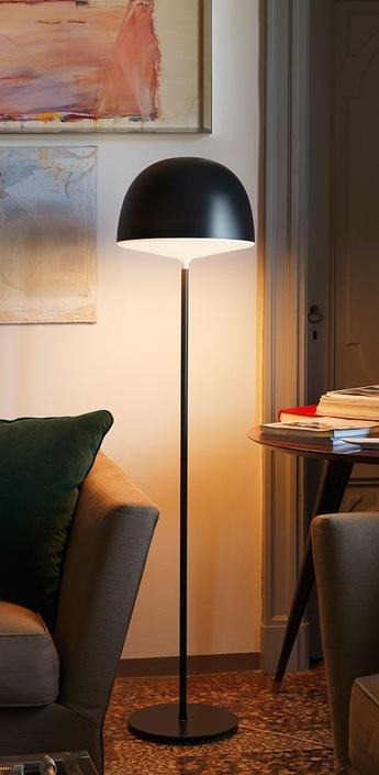 Lampadaire cheshire noir h145cm fontanaarte normal