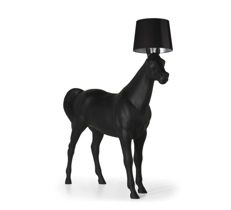 Cheval horse lamp front design lampadaire floor light  moooi mo pali310002b mo pali310001  design signed 38581 product