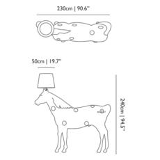Cheval horse lamp front design lampadaire floor light  moooi mo pali310002b mo pali310001  design signed 38582 thumb