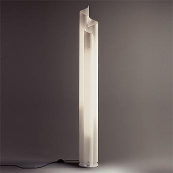 Lampadaire chimera blanc o22 6cm h183cm artemide normal