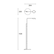 Chipperfield f david chipperfield lampadaire floor light  wastberg 102f105 2  design signed nedgis 123499 thumb