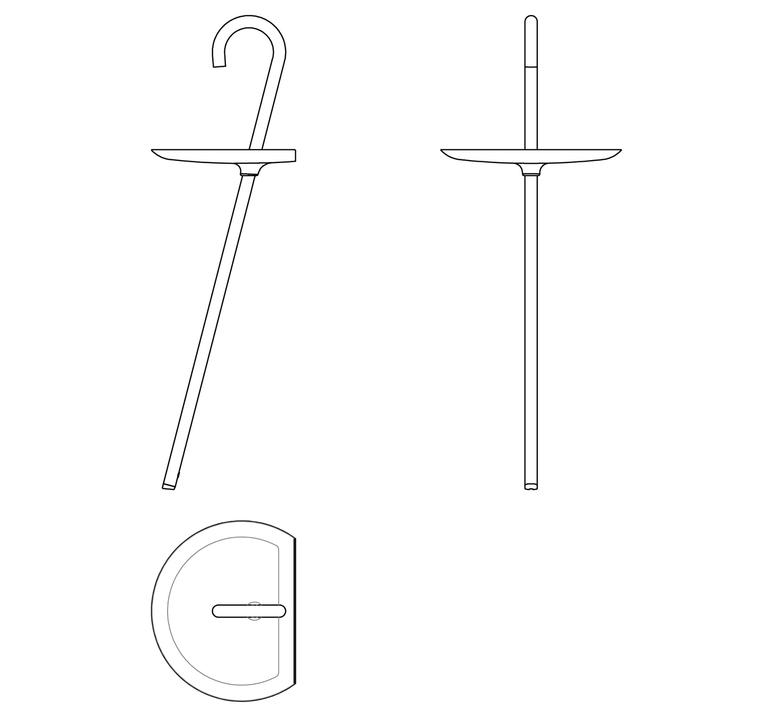 Clochard orlandini design  martinelli luce 2289 bi luminaire lighting design signed 15972 product