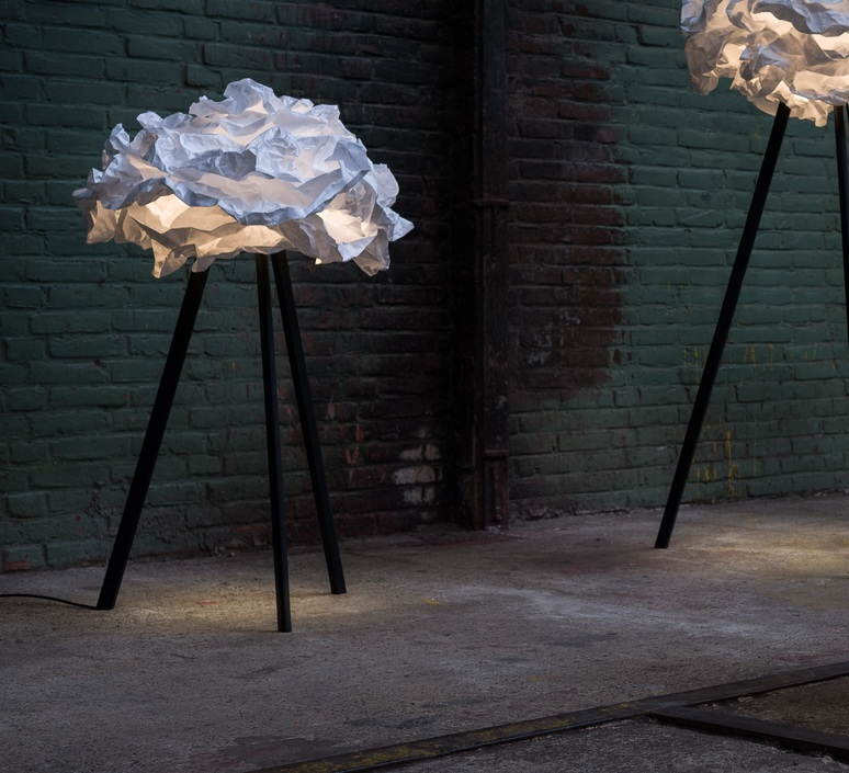 Cloud nuage nicolas pichelin proplamp 109 floor black luminaire lighting design signed 23011 product