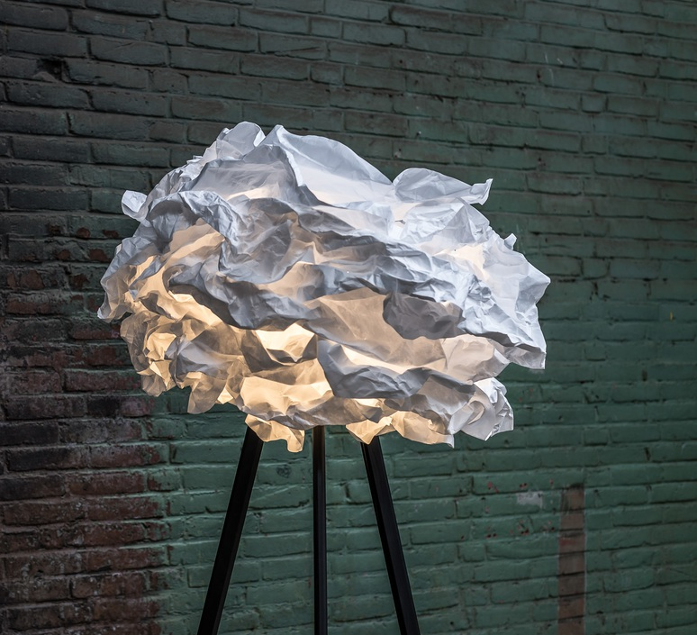 Cloud nuage nicolas pichelin proplamp 109 floor black luminaire lighting design signed 23012 product