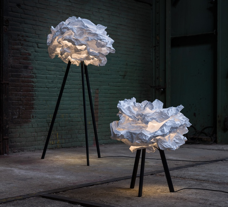 Cloud nuage nicolas pichelin proplamp 67 floor black luminaire lighting design signed 23008 product