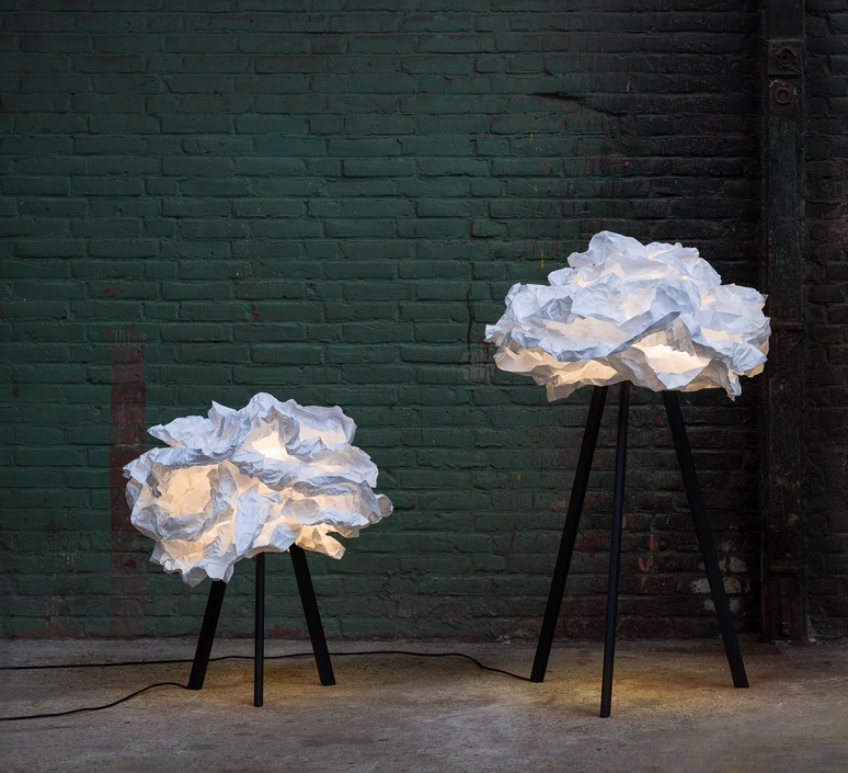 Cloud nuage nicolas pichelin proplamp 67 floor black luminaire lighting design signed 23009 product