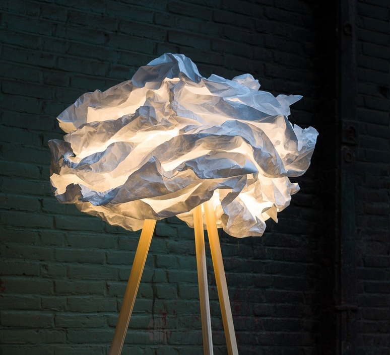 Cloud nuage nicolas pichelin proplamp 67 floor natural luminaire lighting design signed 23027 product