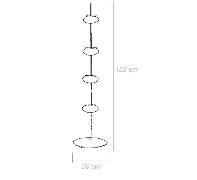 Cocon celine wright celine wright 4cocon lampadaire luminaire lighting design signed 18542 product