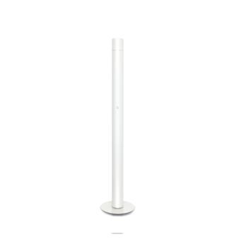 Lampadaire concorde blanc led o12cm h178cm lumen center normal