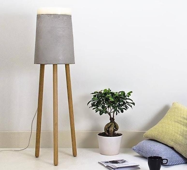 Concrete renate vos lampadaire floor light  serax b7214485  design signed 59961 product