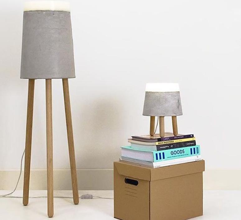 Concrete renate vos lampadaire floor light  serax b7214485  design signed 59962 product