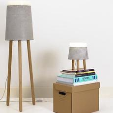 Concrete renate vos lampadaire floor light  serax b7214485  design signed 59962 thumb