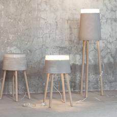 Concrete renate vos lampadaire floor light  serax b7214485  design signed 59963 thumb