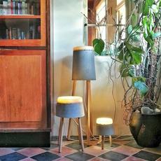 Concrete renate vos lampadaire floor light  serax b7214485  design signed 59964 thumb