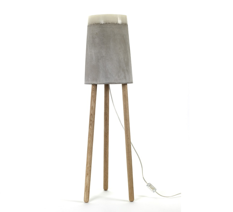 Concrete renate vos lampadaire floor light  serax b7214485  design signed 59965 product