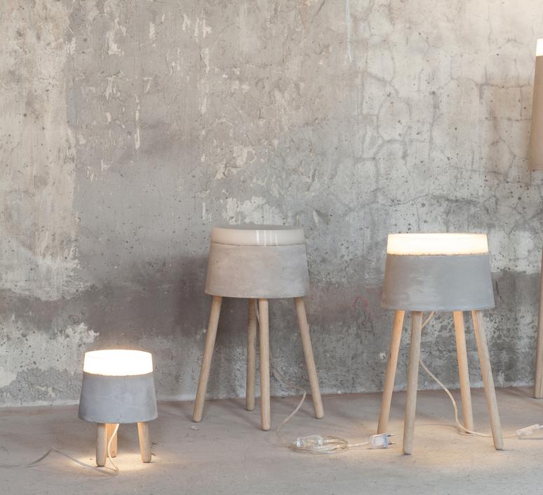 Concrete renate vos lampadaire floor light  serax b7214484  design signed 59956 product