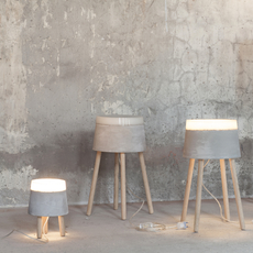 Concrete renate vos lampadaire floor light  serax b7214484  design signed 59956 thumb
