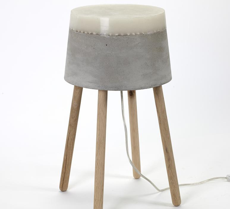 Concrete renate vos lampadaire floor light  serax b7214484  design signed 59958 product