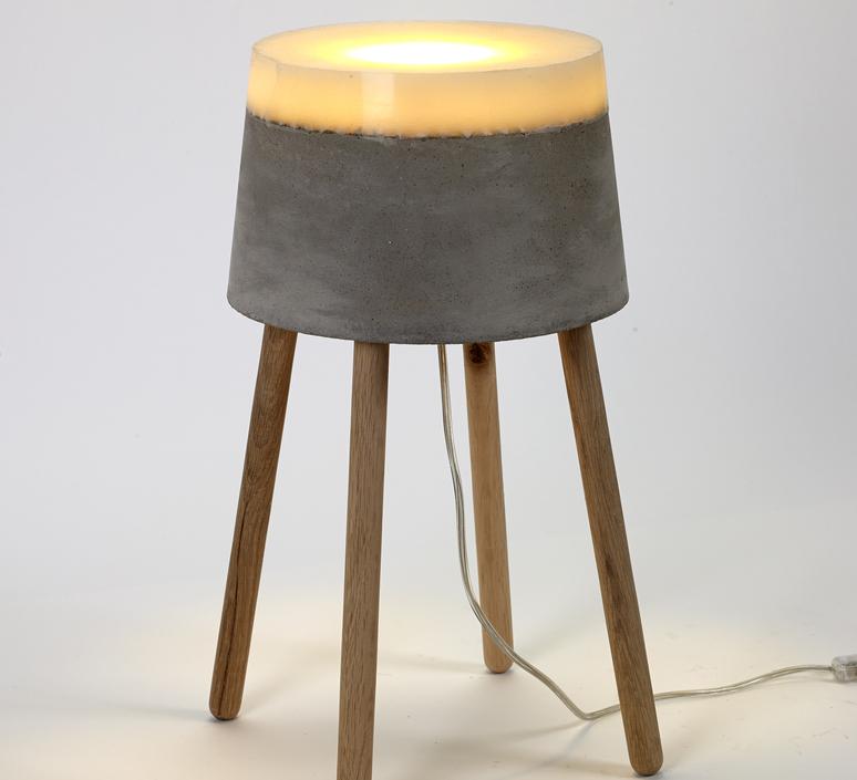 Concrete renate vos lampadaire floor light  serax b7214484  design signed 59959 product