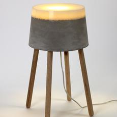 Concrete renate vos lampadaire floor light  serax b7214484  design signed 59959 thumb