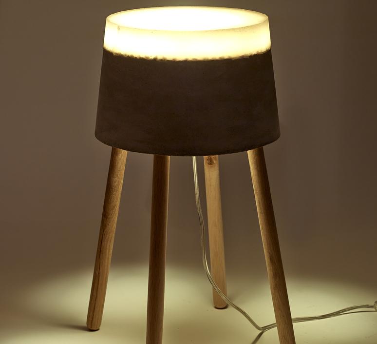 Concrete renate vos lampadaire floor light  serax b7214484  design signed 59960 product