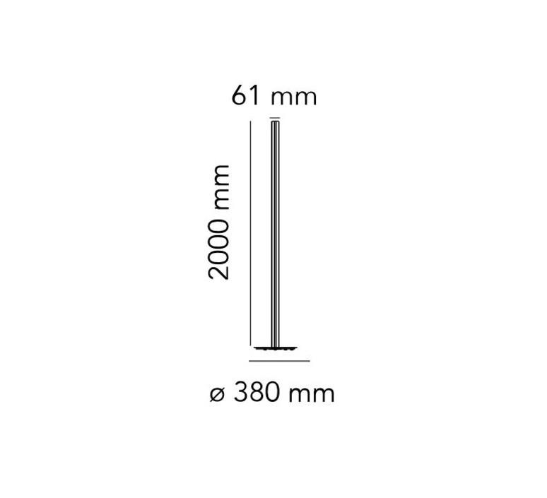 Coordinates floor michael anastassiades lampadaire floor light  flos f1801044  design signed nedgis 96422 product