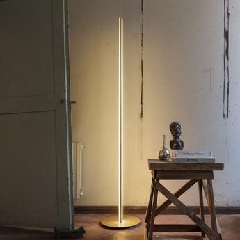 Lampadaire coordinates floor champagne led 2700k 3240lm o38cm h200cm flos normal