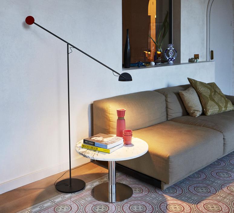 Copernica p studio ramirez i carrillo lampadaire floor light  marset a686 012  design signed 61640 product