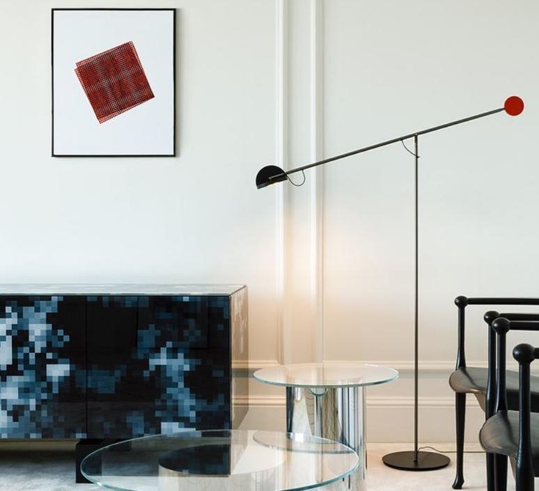 Copernica p studio ramirez i carrillo lampadaire floor light  marset a686 012  design signed 61641 product
