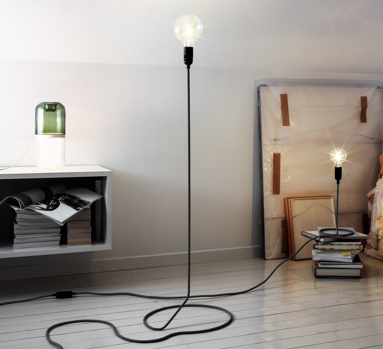Lampadaire cord h130cm o38cm dimmable andtradition 57900 product