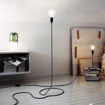 Lampadaire cord h130cm o38cm dimmable andtradition normal