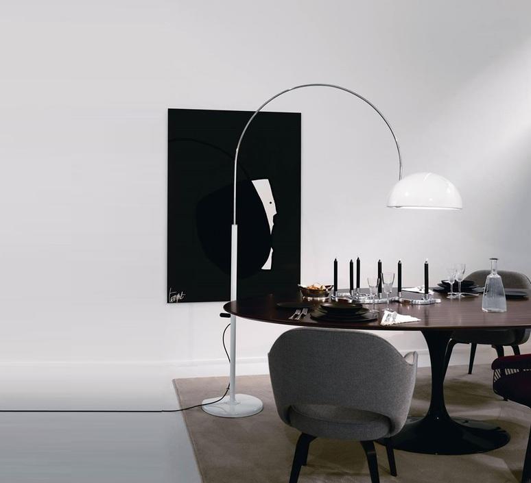 Coupe joe colombo oluce 3320 r blanc luminaire lighting design signed 22494 product