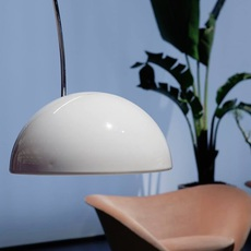 Coupe joe colombo oluce 3320 r blanc luminaire lighting design signed 22496 thumb