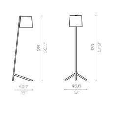 Couture new daniele lo scalzo moscheri lampadaire floor light  contardi acam 002753  design signed nedgis 87182 thumb